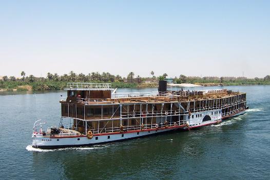 Croisière sur le fleuve sacré du Nil : 8 jours / 7 nuits